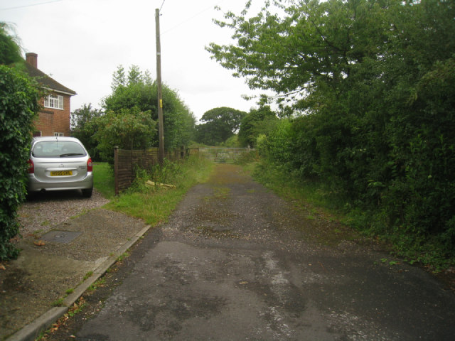 Track off Barn Lane