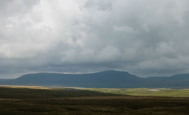 Penyghent from the west