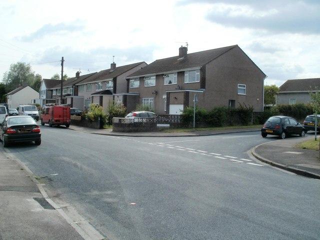 Corner of Traston Road and Traston Close, Newport