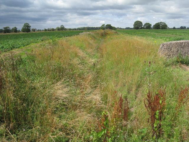 Drain near  Beltoft Grange