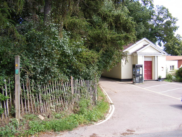 Footpath to The Street, Martlesham