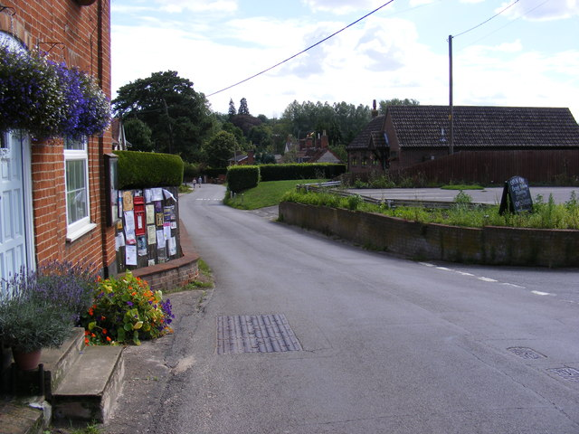 The Street, Little Bealings & Bealings Street Postbox