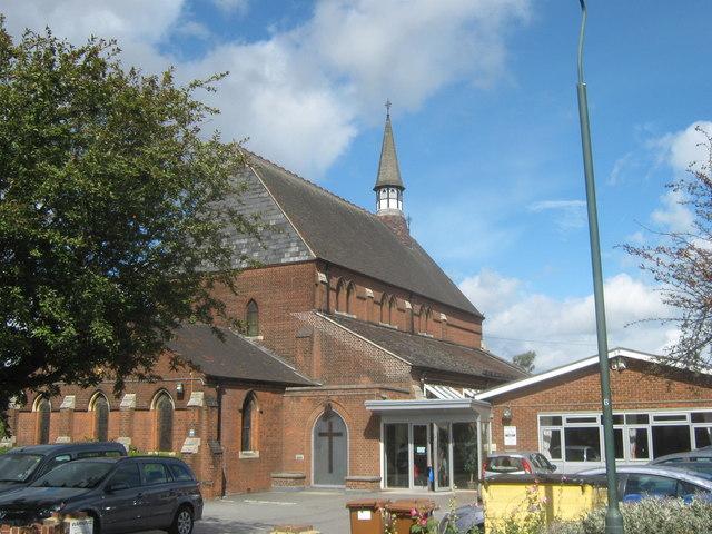 St Paul's Church and Church Hall, Northumberland Heath