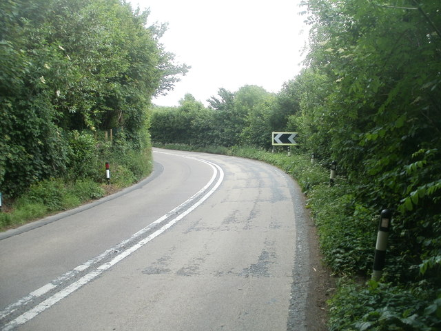 Bend in the A483, Llandovery