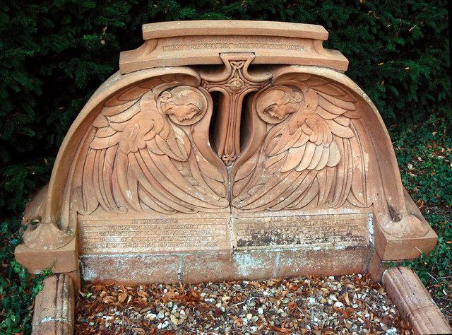 Terracotta grave