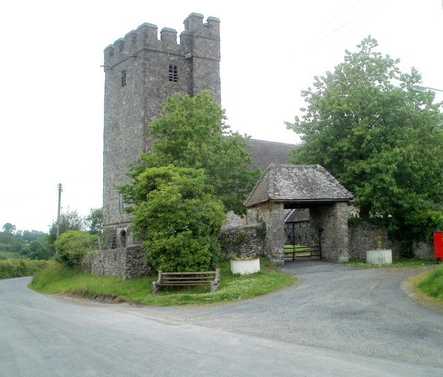 Grade I listed church, Llandovery