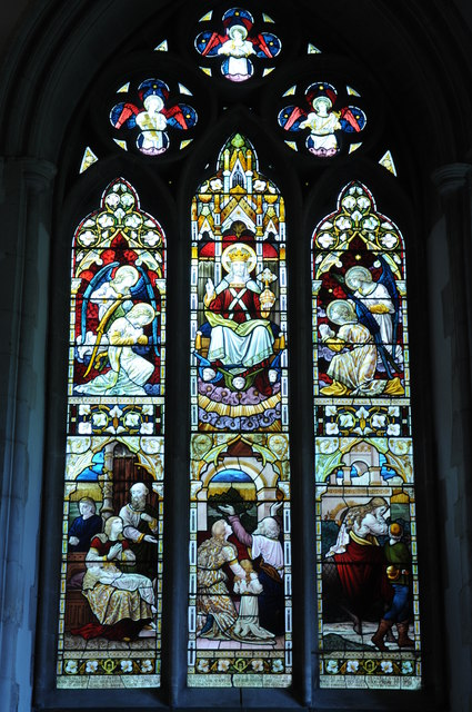 Stained glass window, Cookham