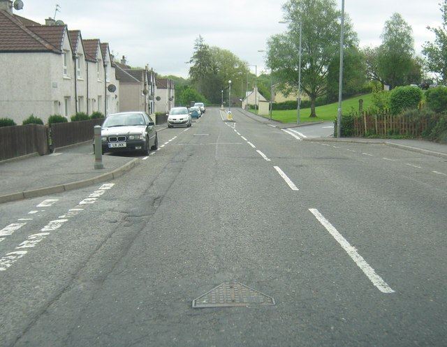 Douglas Terrace at the junction with Ghyll Crescent