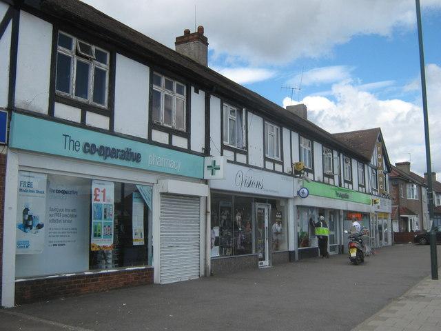 Shops on Brampton Road