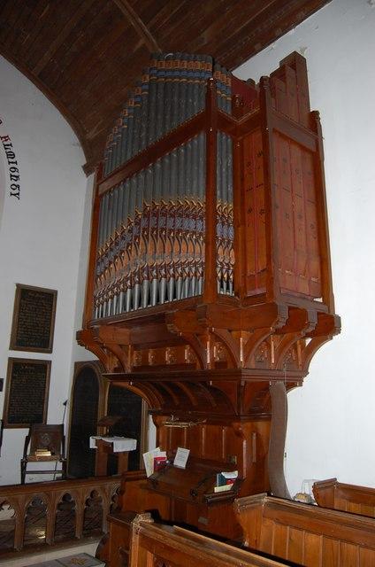 Herstmonceux Church Organ