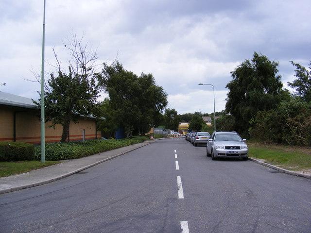 Road off Beardmore Park