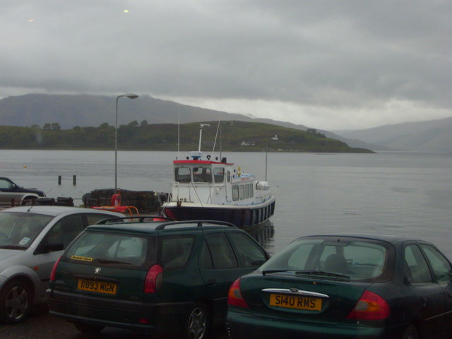Lismore Ferry at Port Appin Pier