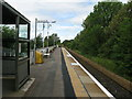 NS4040 : Kilmaurs railway station, looking North by Andrew Reid