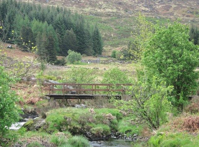A bridge over the Palnure Burn
