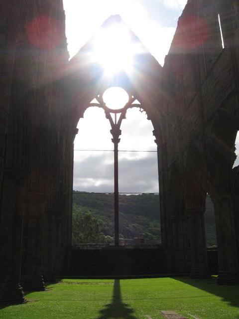 Tintern Abbey, east window
