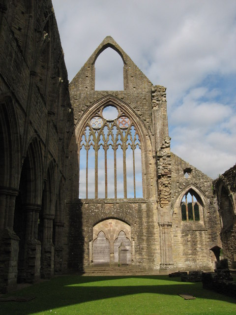 Tintern Abbey, west window