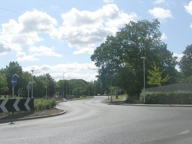 Farnley Ring Road - viewed from Stonebridge Lane