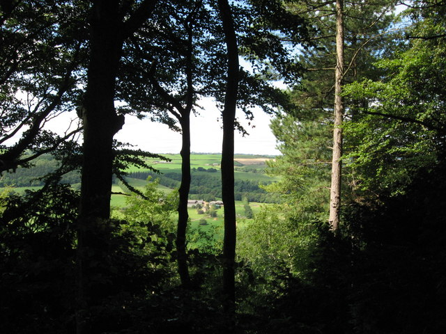 View west from Offa's Dyke