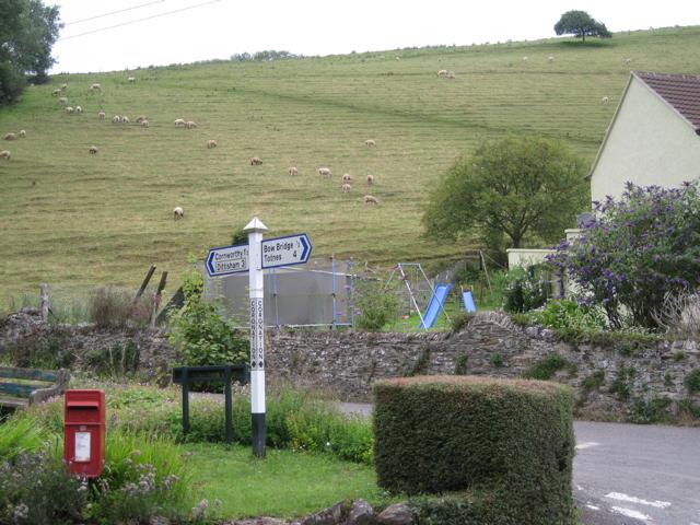 Hillside above Coronation Cross