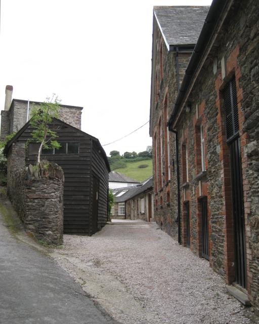 Rear of Tuckenhay Mill