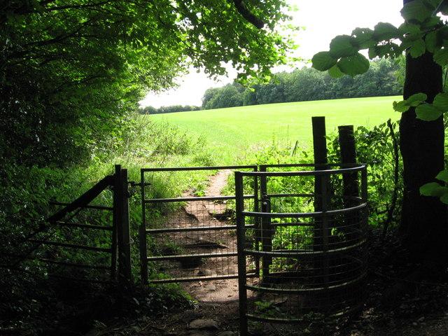 Kissing Gate near the Devil's Pulpit