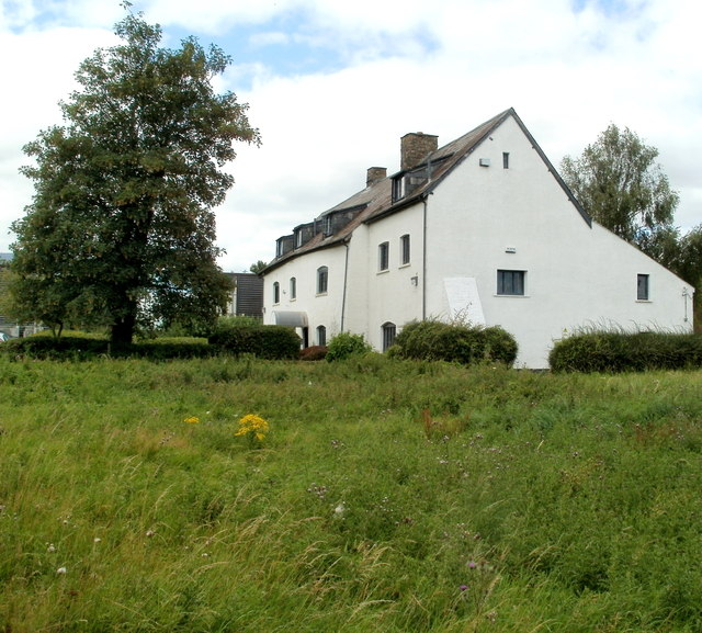 Side view of Grade II listed former Ty Coch farmhouse, Cwmbran