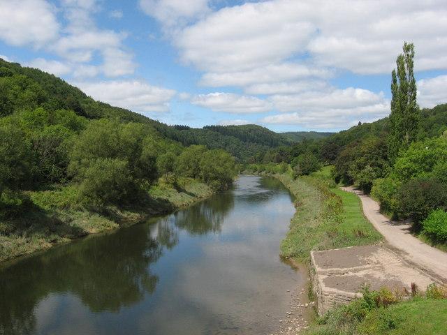 River Wye at Brokweir