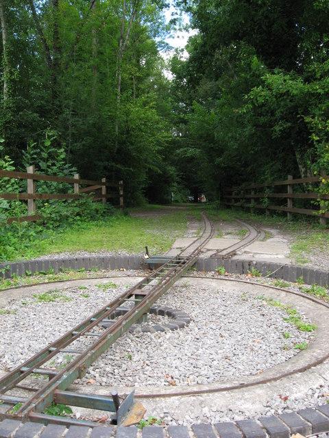 Former railway embankment at Tintern