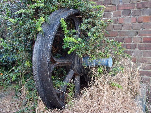 Train wheels at Bishops Stortford