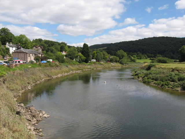 The River Wye near Tintern
