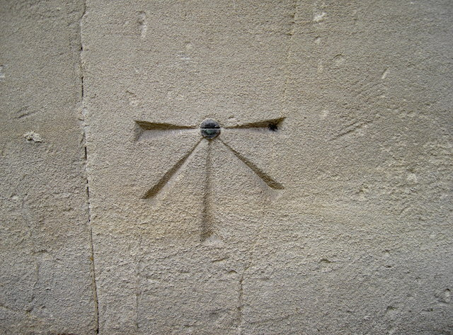 Bolt benchmark, St Mary on the Quay