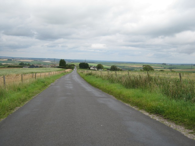 View down Blagdon Hill