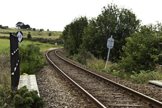 Railway near Tomich