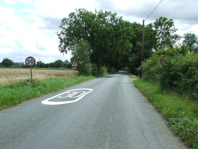 Entering Walsham Le Willows
