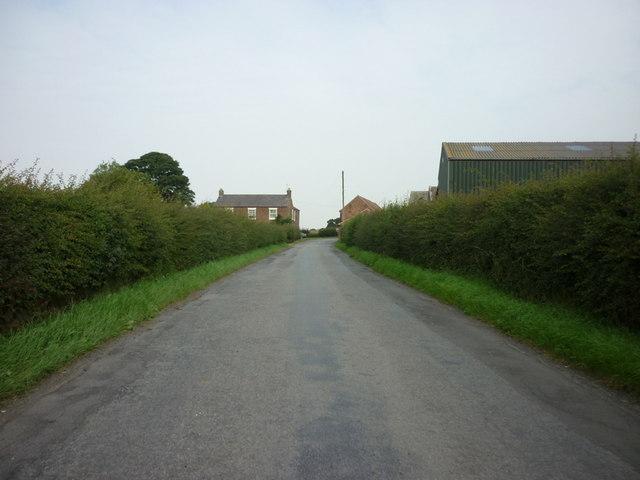 Approaching Bridge Farm