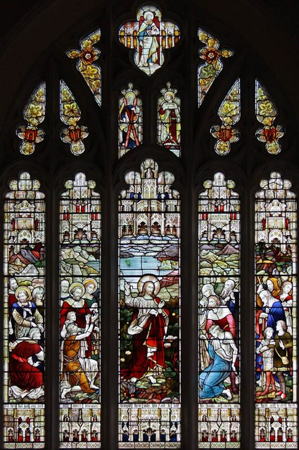 St Lawrence, Alton - Stained glass window