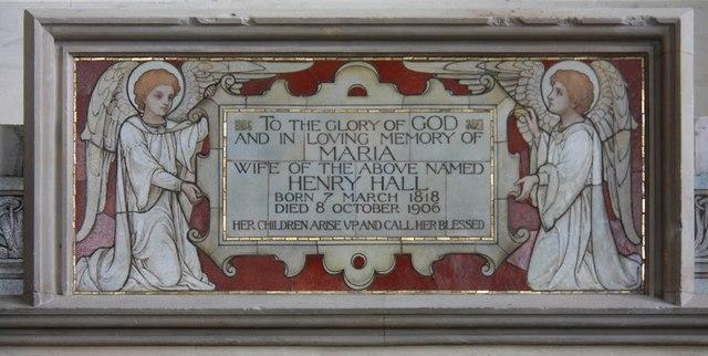 St Lawrence, Alton - Monument