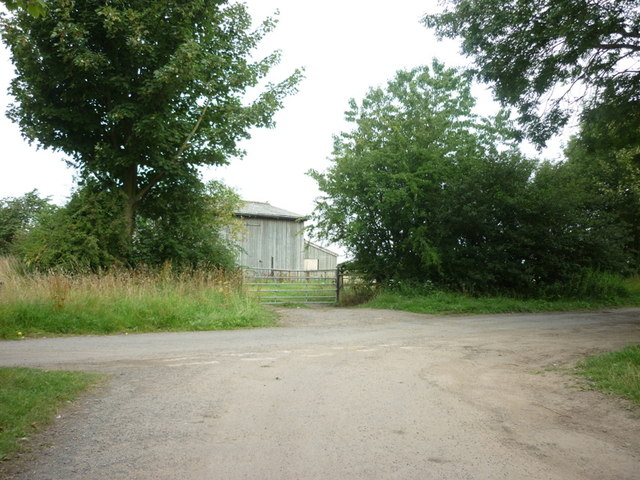 Farm buildings off Church Field Lane