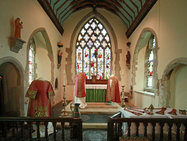 St Mary of the Assumption, Froyle - Sanctuary
