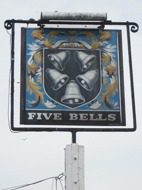 Five Bells sign