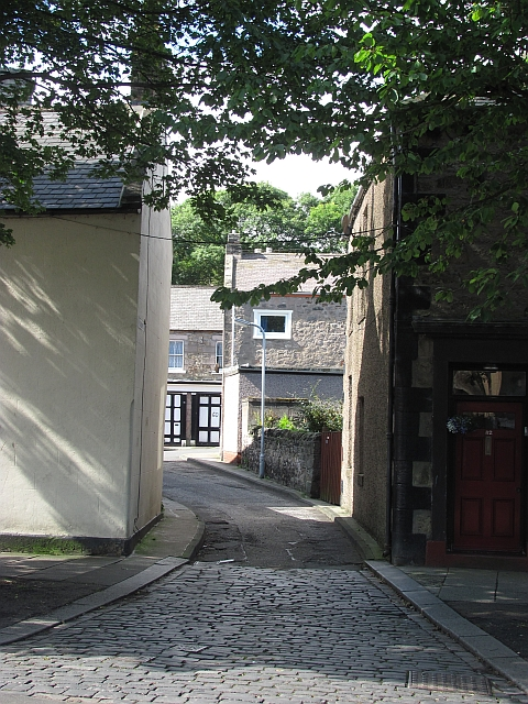 A narrow street, Spittal