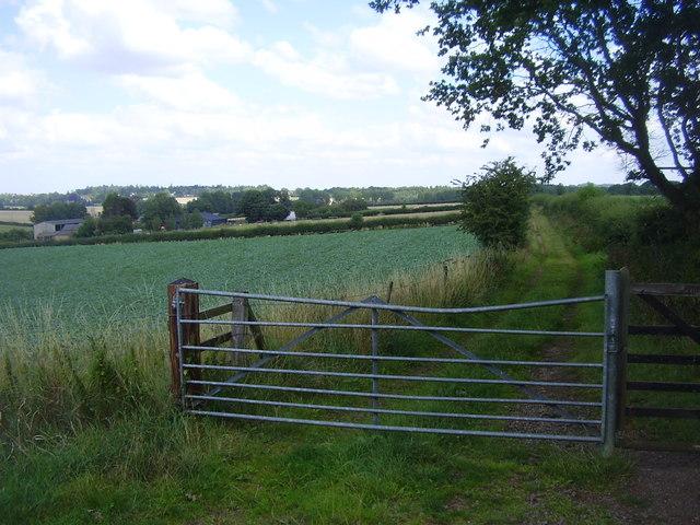 Harlestone Bridleway
