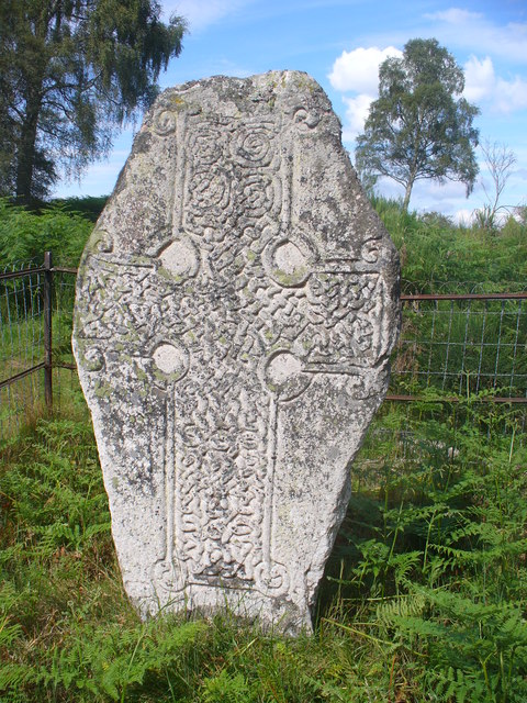 Cross Slab, Loch Kinord
