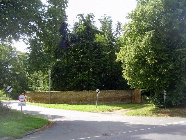 The Road to Upper Harlestone