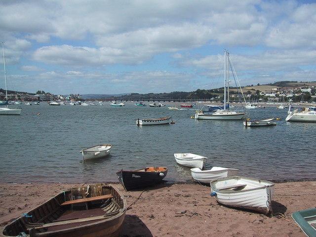 The Teign estuary