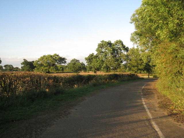 The old course of the A631