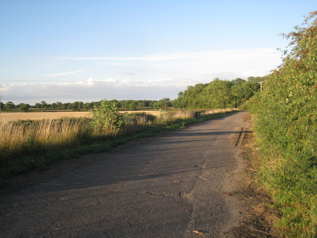 The old course of the A631 (2)