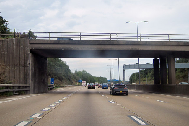 M25 near junction 11