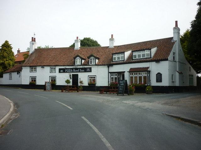 The Punch Bowl Inn, Marton
