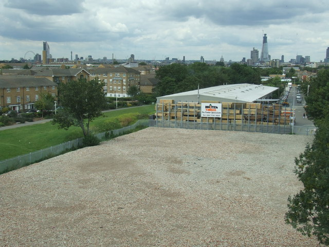 A view from Peckham Library